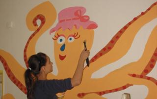 Maľovanie detských nemocníc