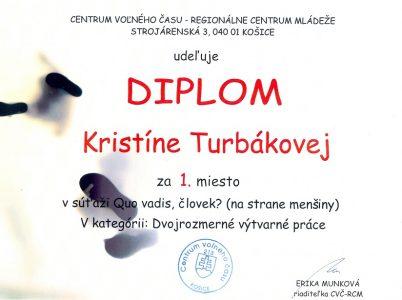 Kristína Turbáková – Centrum voľného času Košice0001