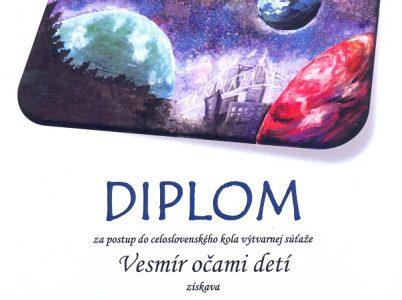 Vesmír očami detí – Simona Demjanová